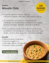 SO GOOD Organic Masala Oats 125gm