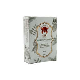 [neempep67 ] GIR Neem Peppermint Herbal Soap 80g