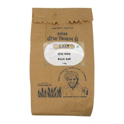 Sidha Kisan Se Natural Rock Salt 1kg